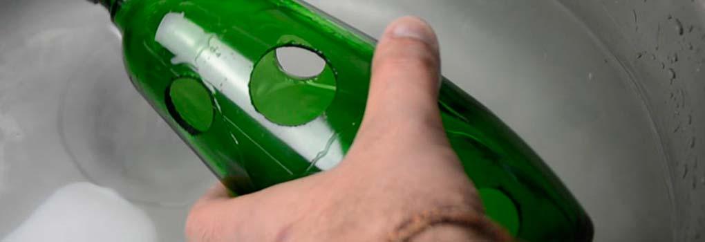 Como hacer un agujero en un cristal templado
