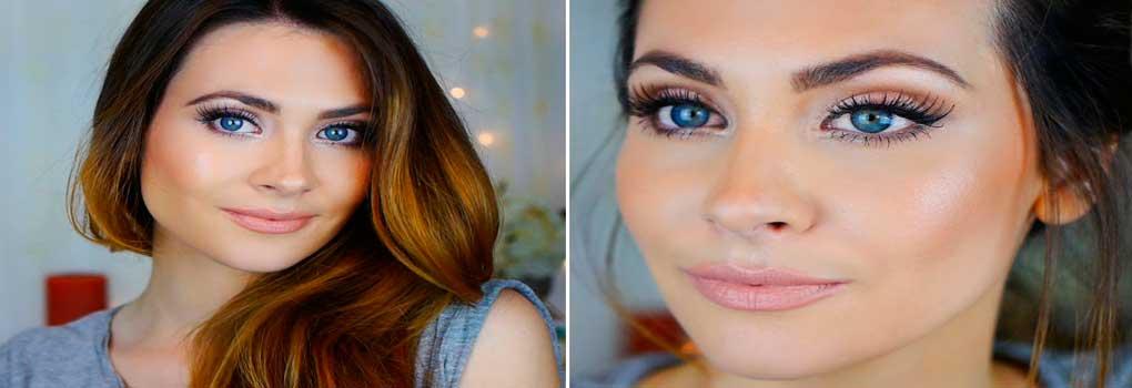 Maquillaje natural casero