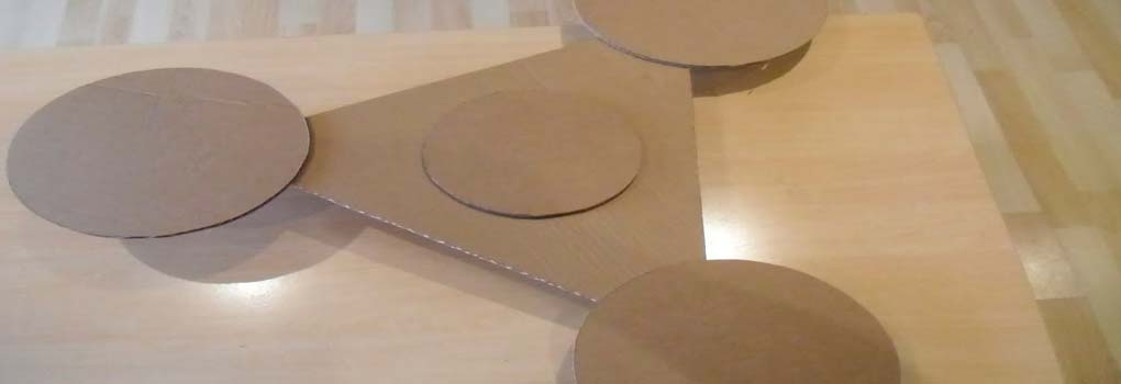 SPinner de papel o carton
