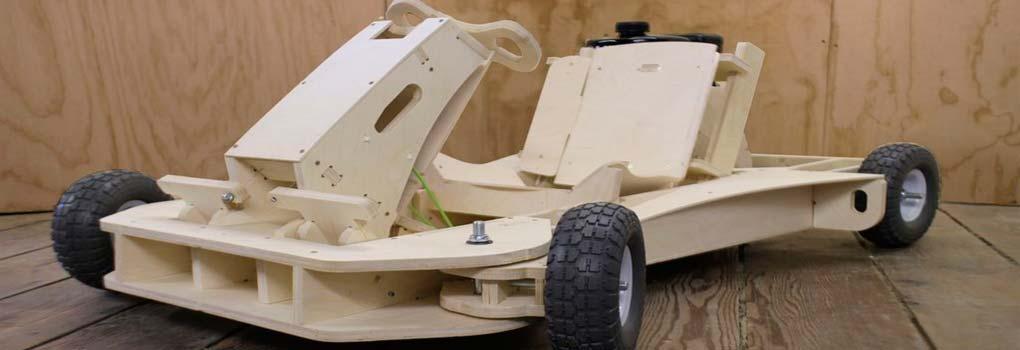 Karting de madera