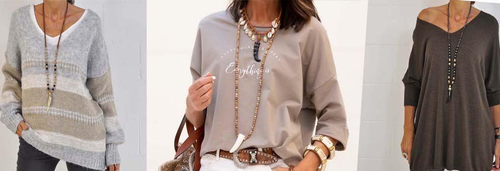 Jersey de lana de mujer