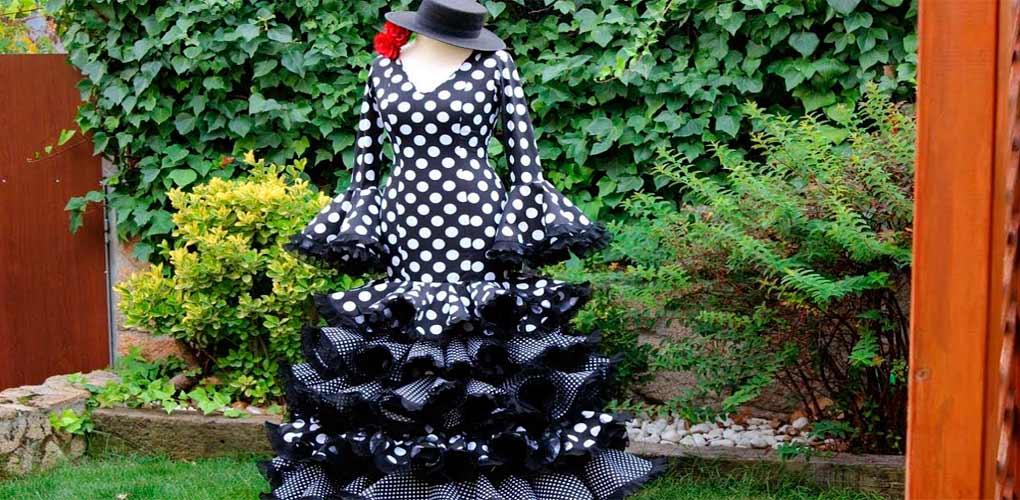 Traje de Flamenca casero